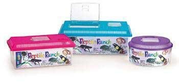 Lees Reptile Ranch (Lee's Reptile Ranch, Small, Rectangle w/Lid)