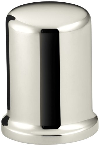 (KOHLER K-9111-SN Air Gap Cover with Collar, Vibrant Polished Nickel)