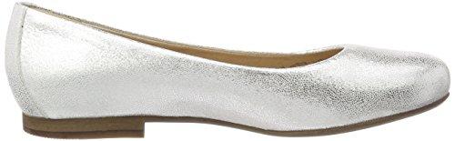 Pantofole Da Donna Sioux Hermina, Argento (lino)