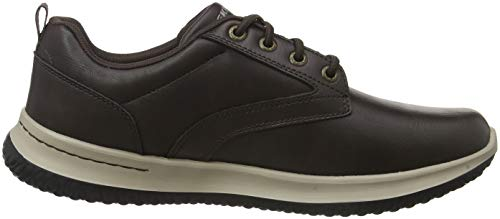 Sneaker Chocolate Delson Marrone Uomo Skechers Chocolate Antigo vPz1qxwnwS