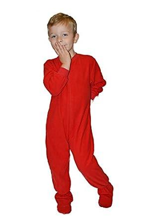 Amazon.com: Big Feet PJs Little Boys Infant Toddler Red