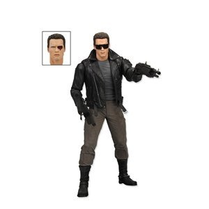 Neca 7 Inch Terminator Collection Series 2 Police Station Assault T-800 Action Figure
