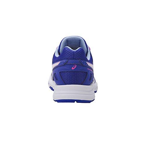 Asics Gel-Galaxy 9 Gs, Zapatillas de Entrenamiento Unisex Bebé Azul (Blue Purple/white/airy Blue)