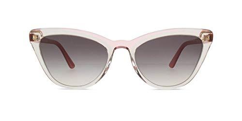 Prada Women's PR 01VS Ultravox Cat Eye Sunglasses, Transparent Pink, One Size