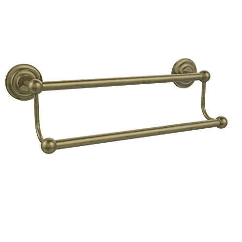 Allied Brass PQN-72/30-ABR Prestige Que New Collection 30 Inch Double Towel Bar, Antique Brass ()