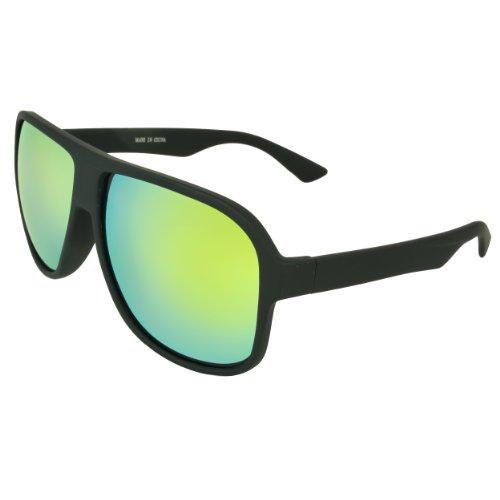 MLC Eyewear® Geo Shield Fashion Retro Sunglasses - Jacobs Michael Sunglasses