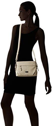 Gabor Lisa, Bolso Bandolera para Mujer, Blanco (Offwhite), 10x16.5x25.5 cm (W x H x D)