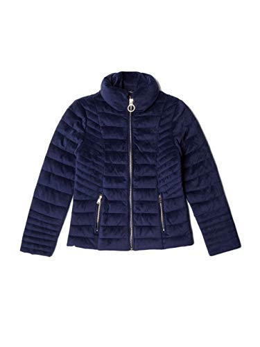 Guess Girls' Big Teoma Jacket, Duke Blue, 12