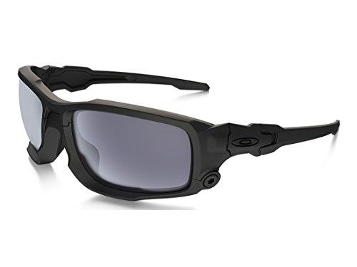 Design Oakley Sunglasses - Glasses, Gry Lens, Blk Frame, Det Cord