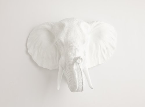 resin elephant head - 2