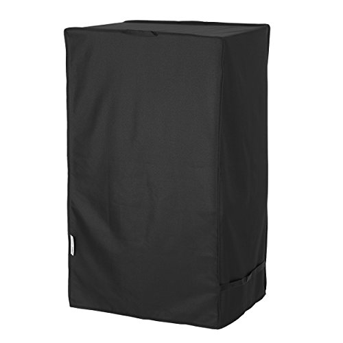 "Unicook Heavy Duty Waterproof Electric Smoker Cover, Square Grill Cover, Special Fade and UV Resistant Material, Durable and Convenient, Fits Masterbuilt 30 Inch Electric Smoker, 18""W x 17""D x 33""H"