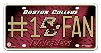 NCAA Boston College Eagles #1 Fan Metal Tag License Plate