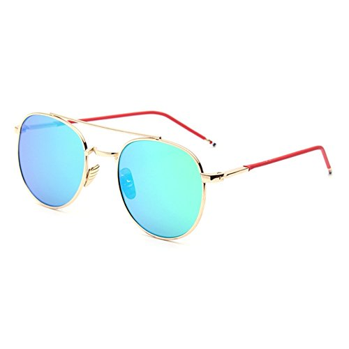 Hip Flip Scrub (XFIERY SG800043C4 UV400 PC Lens Fashion Sunglasses,Metal Frames Non-Polarizer)