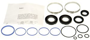 Infiniti M30 Steering Rack - ACDelco 36-349280 Professional Steering Gear Pinion Shaft Seal Kit with Bushing, Clamp, Seals, and Snap Ring