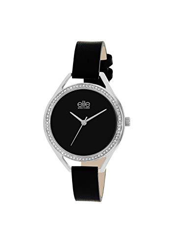 Reloj Elite Mujer Digital Silver Piel   Reloj Silver   e55062 - 203: Amazon.es: Relojes