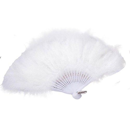 hand feather fan - 9