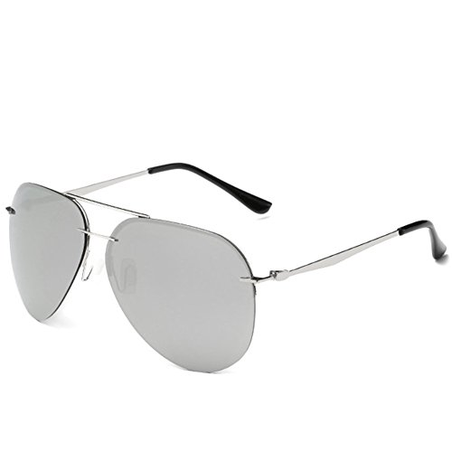 A-Roval Women Polarized Round Fashion Metal - My Sunglasses Suit Men Which Face