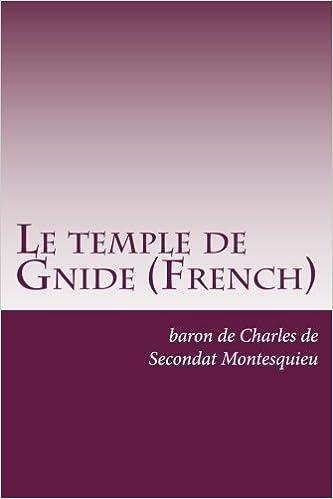 De L'esprit Des Lois 1* (French Edition)