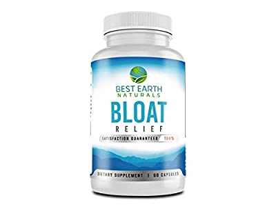 Bloat Relief - Best Selling Maximum Strength Natural Diuretic with Dandelion, Green Tea, Cranberry, Apple Cider Vinegar & More to Help Lose Water Weight, Relieve Bloating, Swelling & Water Retention