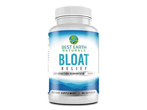 Bloat Relief Maximum Strength Natural Diuretic Water Pills to Help Lose Water Weight, Relieve Bloating, Swelling and Water Retention 60 Count
