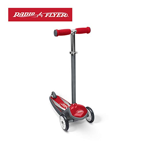 Radio Flyer Color FX EZ Glider 3 Wheel Scooter, Red (Best Scooter For 5 Year Old Uk)