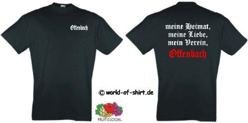 world-of-shirt Herren T-Shirt Offenburg Ultras meine Heimat