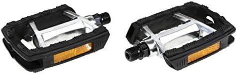 Gazelle plattformpedale FP-972Aluminium 9//16 schwarz//silber