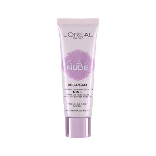 L'oréal Paris Nude Magique BB Cream Bare Skin Beautifier SPF 12 Medium Skin Tone - Tone Skin Yellow Colours For