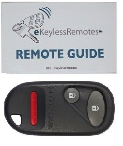 2002-2004 Honda Civic SI Keyless Entry Remote Fob Clicker With Do-It-Yourself Programming and eKeylessRemotes Guide
