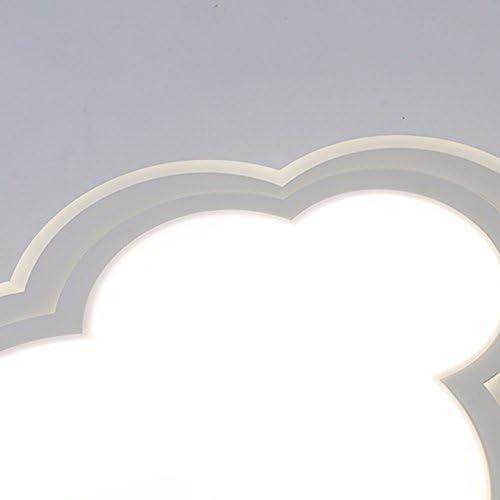LighSCH Deckenleuchten Kinder Lampe Wolken einfach und modern in warmen Schlafzimmer Augenschutz kreative Lampe Lampen 30W warmes Licht 55Cm Led