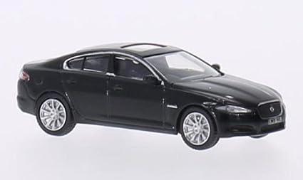 Jaguar Xf Black 0 Model Car Ready Made Oxford 1 76 Oxford