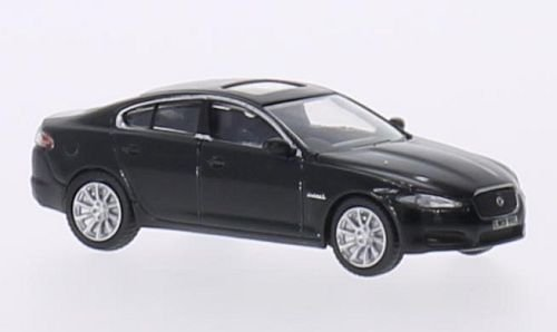jaguar-xf-black-0-model-car-ready-made-oxford-176-by-jaguar