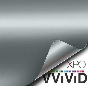 VViViD Matte Attack Grey (Nardo Grey) Vinyl Wrap Adhesive Film (1ft x 5ft) BHBAZUKAZIND2862
