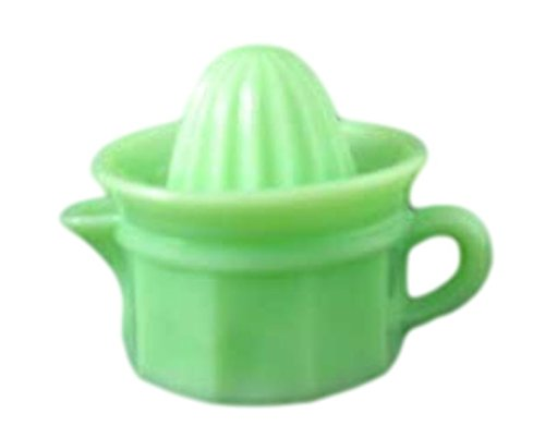 G3207J Jadeite Green Glass Panel Pattern Child Size Juicer Reamer ()