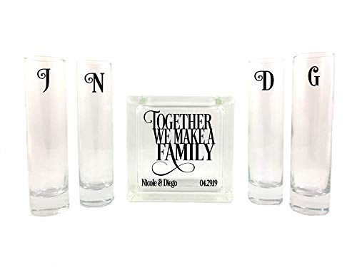 Customized Blended Family Unity Set - Small Square