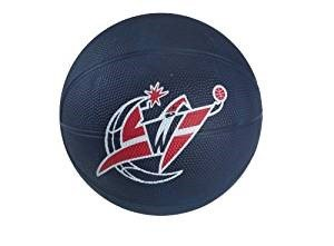 Spalding NBA Washington Wizards Mini Rubber (Washington Wizards Nba Series)