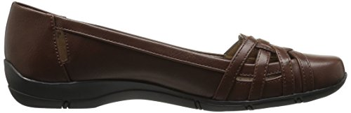 Lifestride Womens Divers Flat Darktan