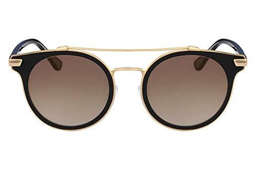 Óculos Ck Ck2149S 001 Preto Ouro Lente Espelhado Ouro Tam 50