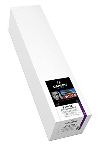 Canson Infinity Baryta Photographique Fine Art Paper, 17''X50' by Canson