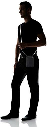 31Y n89q0XL - Pacsafe Rfidsafe V150 Anti-Theft RFID Blocking Compact Passport Wallet, Black