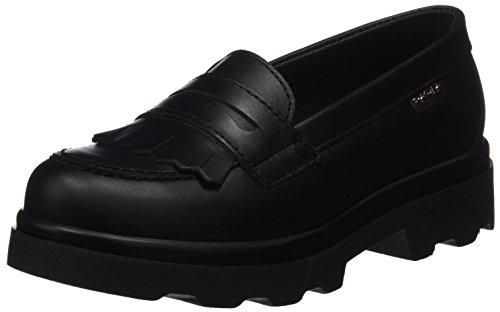 Pablosky 828410, Zapatos Sin Cordones Niñas Negro