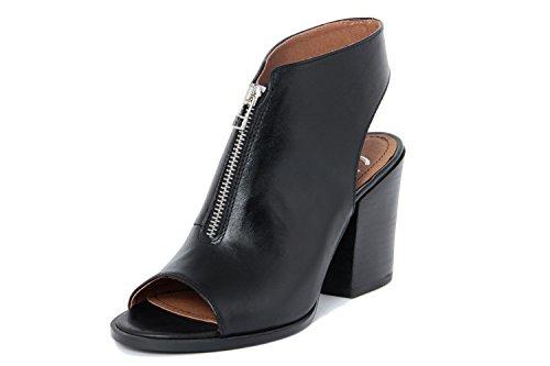 Gusto Zapatos peep toe Negro