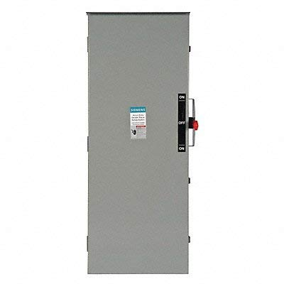 Siemens DTNF326 60 Amp 240 Volt 3-Pole Non-Fusible Double Throw Safety Switch