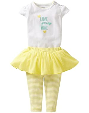 Carters Baby Girls' Auntie Tutu Pant Set