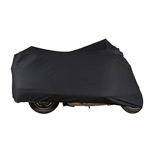 Dowco Guardian 51057-00 Indoor/Garage Breathable Motorcycle Dust Cover: Black, Vintage/Retro Sport ()