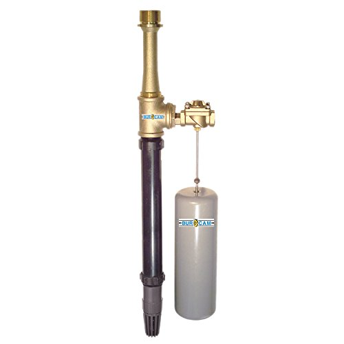 - BurCam 300400 Sump Buddy Water Driven Backup Sump Pump Brass Valve & Pump, 1200 GPH Max