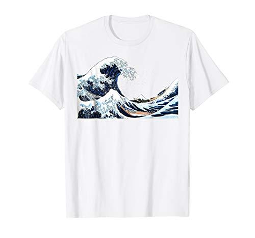 The Great Wave off Kanagawa Hokusai Japanese Art T Shirt ()