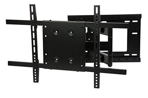 "Price comparison product image THE MOUNT STORE TV Wall Mount for LG 60"" Class LED UK6090PUA Series 2160p Smart 4K UHD TV with HDR Model 60UK6090 VESA 300x300mm Maximum Extension 26 inches"