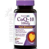 Natrol Coq10 100Mg Fast Dissolve 30 Tab by Natrol