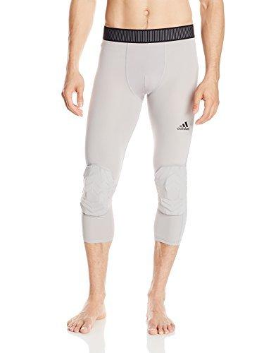 adidas Performance Men's Padded Three-Quarter Tights, Black, 2XT by adidas (Image #5)
